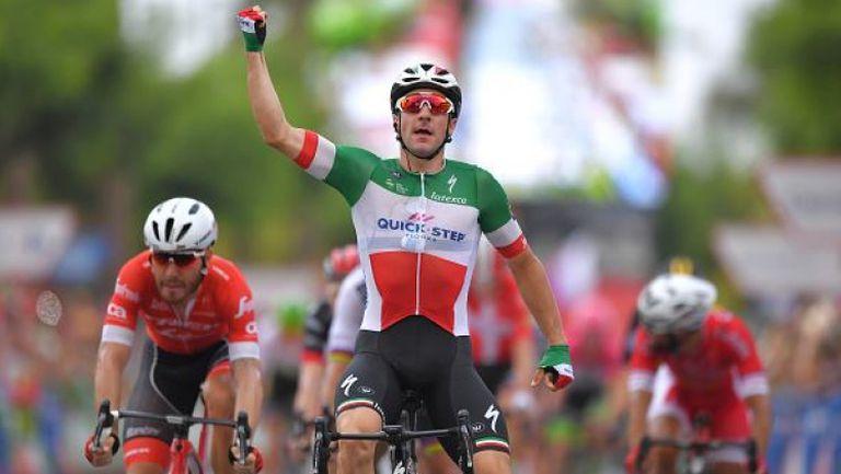 Елиа Вивиани спечели третия етап на Обиколката на Испания