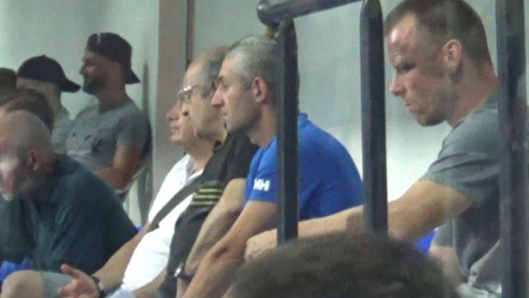 Топчо и Гаджев са на трибуните за Левски-Берое