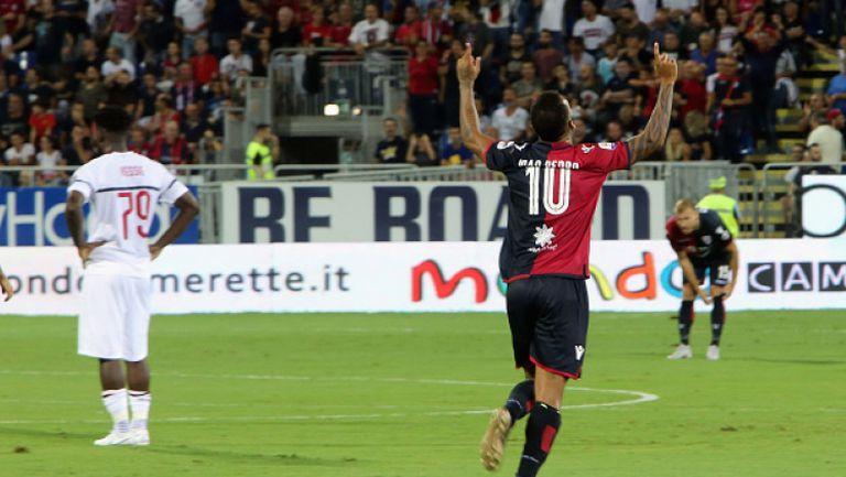 Милан взе само точка от Каляри, Игуаин с първи гол за росонерите