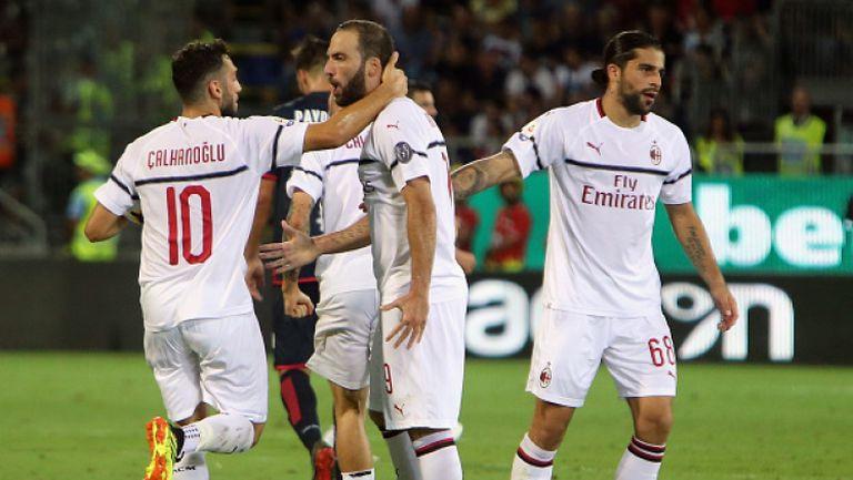 Дюделанж - Милан 0:1
