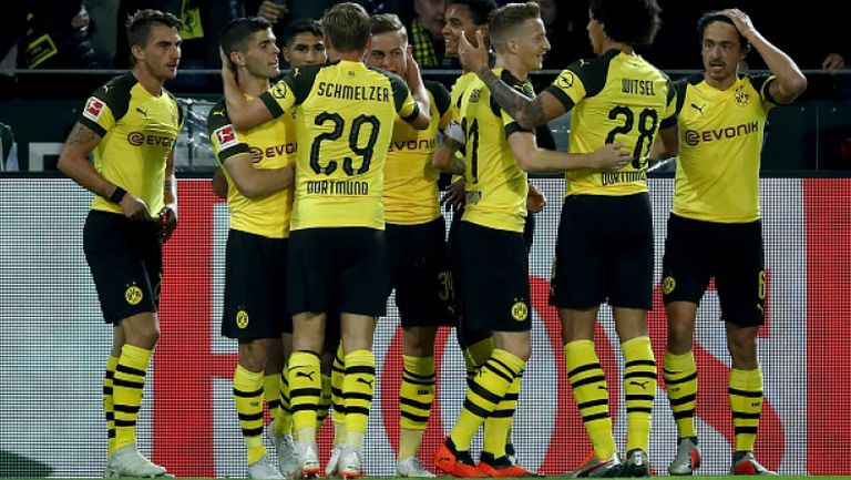 Борусия (Дортмунд) разгроми Нюрнберг със 7:0