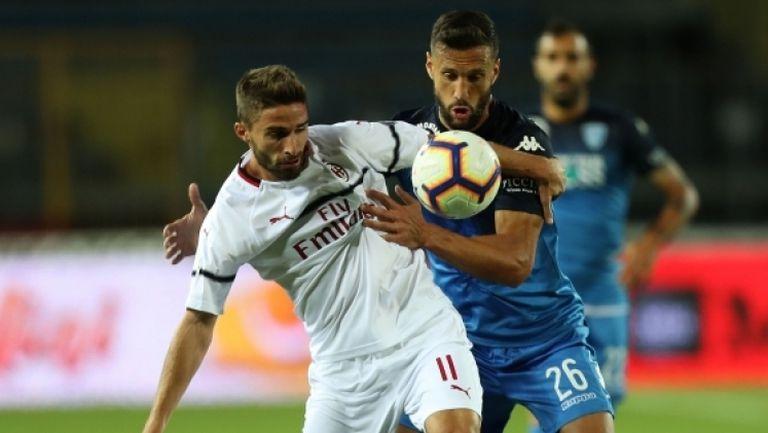 Грешка на Романьоли лиши Милан от победата срещу Емполи