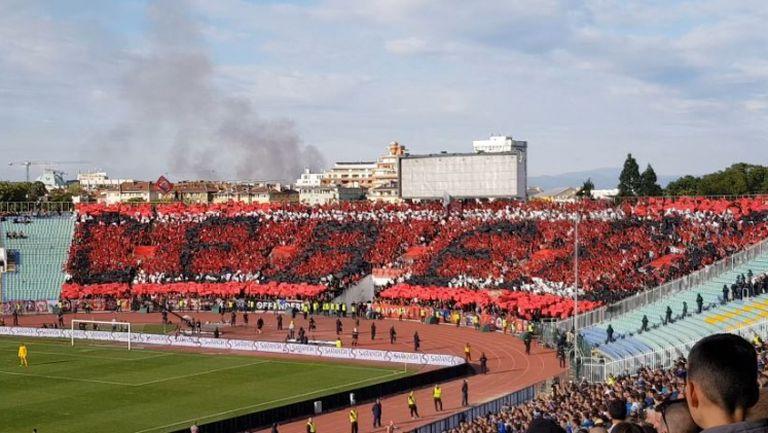 """Хореографията на """"армейците"""" срещу Левски"""