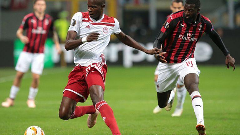Милан обърна Олимпиакос в Лига Европа