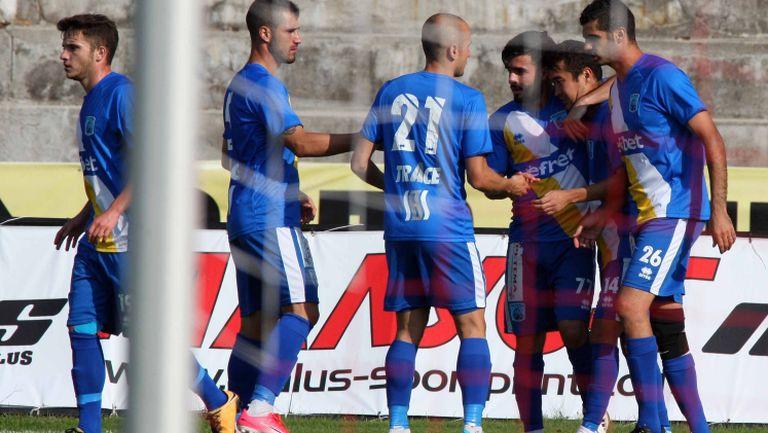 Верея вкарва втори гол срещу Черно море