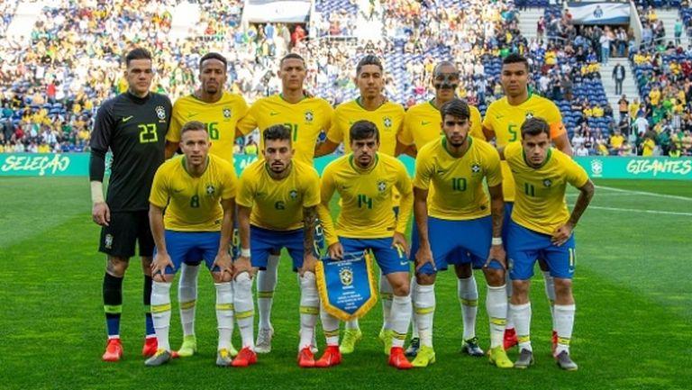 Бразилия изненадващо спря победната си серия