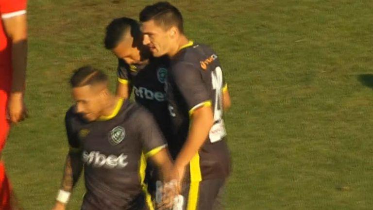 Втори гол за Кешерю и 3:0 за Лудогорец срещу Ботев (Враца)