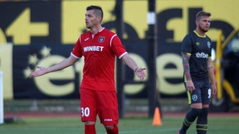 Валери Домовчийски вкара почетен гол за Ботев (Враца)