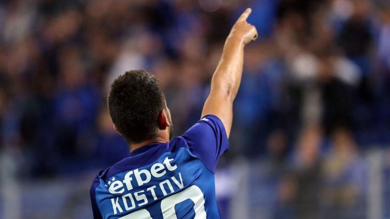 Станислав Костов блесна при успех на Левски срещу Славия