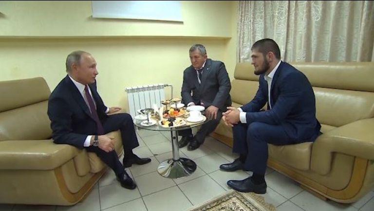 Путин към Хабиб: Можем да скочим като теб, ако ни нападнат така