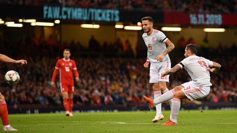 Уелс - Испания 1:4