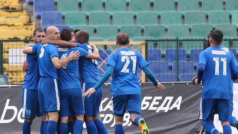 Верея успя да върне един гол срещу Ботев (Враца)
