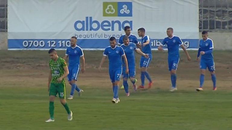Макриев затвърди победата на Арда с второ попадение в Добрич