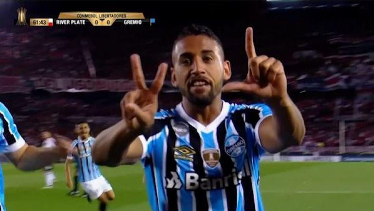 Гремио победи Ривър Плейт в Аржентина