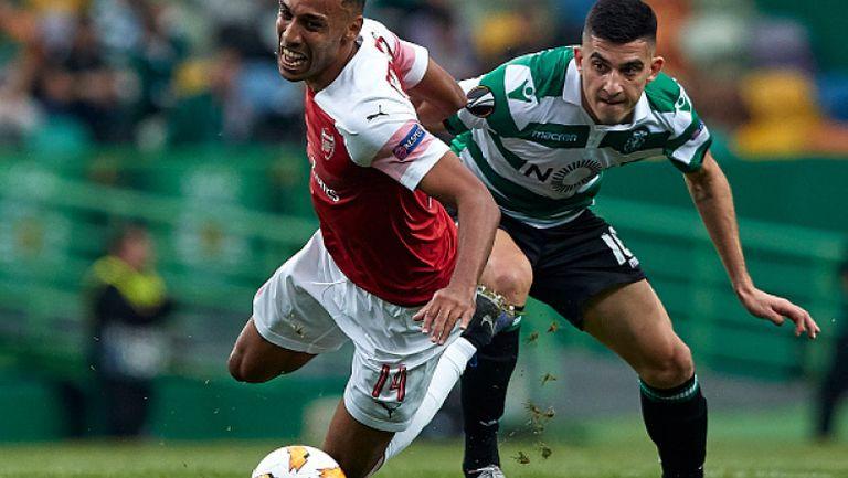 Спортинг Лисабон - Арсенал 0:1
