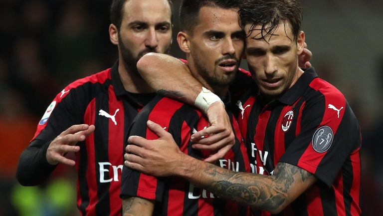 Милан успя да измъкне трите точки от Сампдория