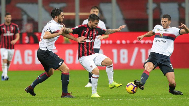 Милан измъкна победата в последните мигове срещу Дженоа