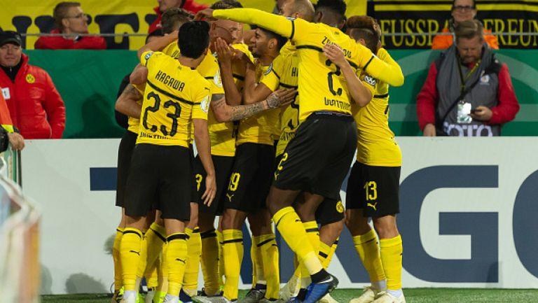 Волфсбург - Борусия (Дортмунд) 0:1