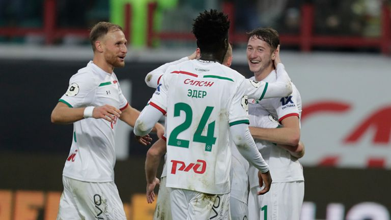 Локомотив Москва - Арсенал Тула 3:1