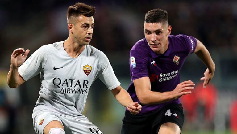 Късен гол спаси Рома от загуба във Флоренция