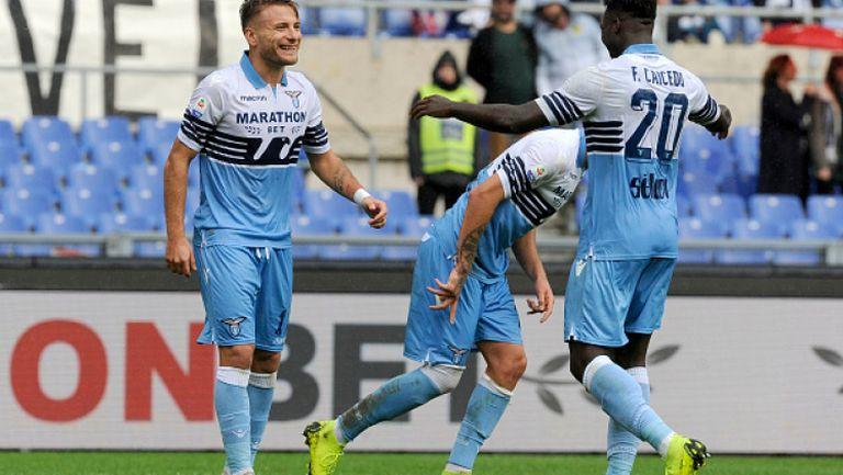Имобиле блести за Лацио в разгромна победа над СПАЛ