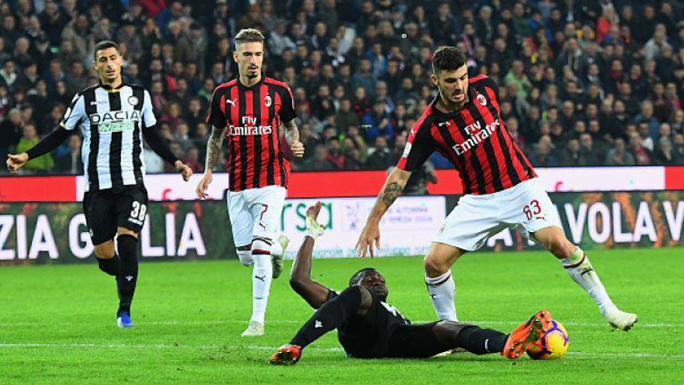 Милан изтръгна победата срещу Удинезе в късна драма