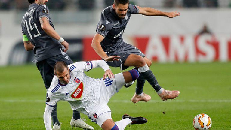 Гол на Георги Миланов, МОЛ Види - ПАОК 1:0