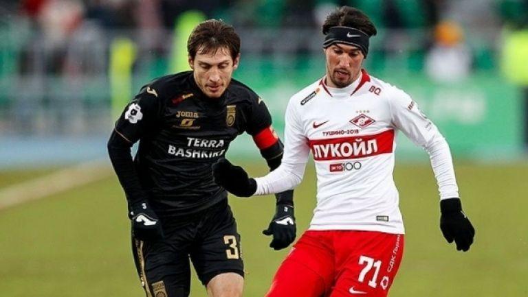 Уфа - Спартак (Москва) 2:0