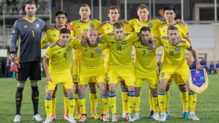 Казахстан Латвия 1:1