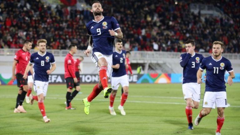 Албания - Шотландия 0:4