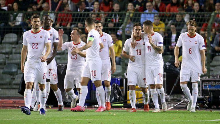 Швейцария - Белгия 5:2