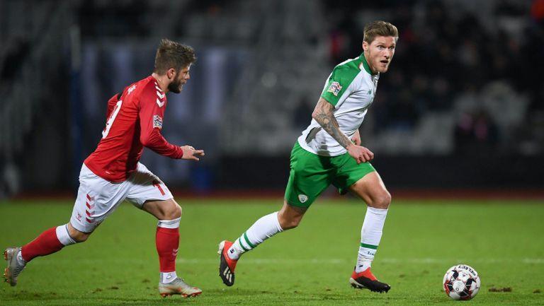 Дания - Ирландия 0:0