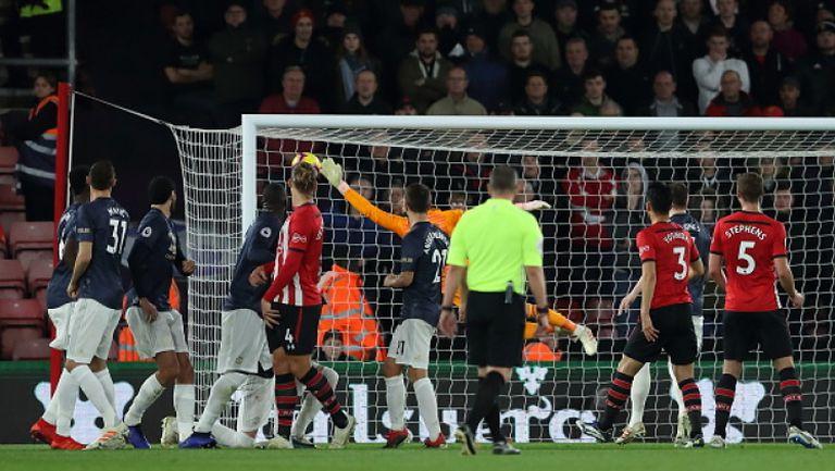 Саутхамптън - Манчестър Юнайтед 2:2