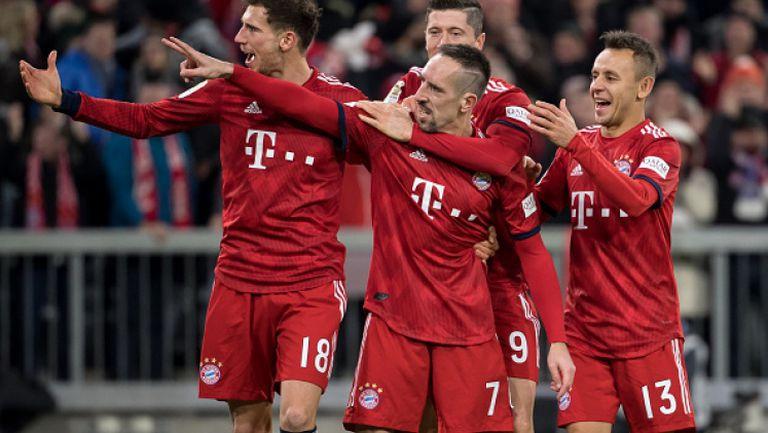 Байерн Мюнхен - Нюрнберг 3:0