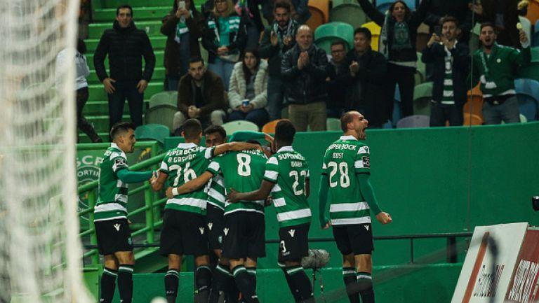 Убедителен успех за Спортинг в Португалия