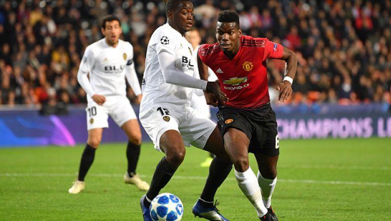 Валенсия - Манчестър Юнайтед 2:1