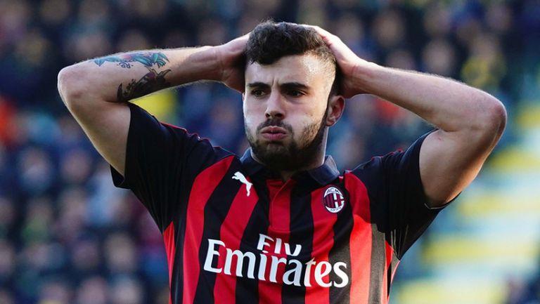 Фрозиноне - Милан 0:0