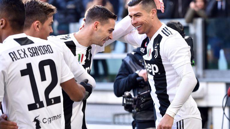 Два гола на Роналдо и ВАР изведоха Юве до победа срещу Сампдория