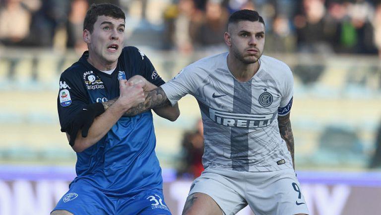 Интер продължи изкачването си след успех срещу Емполи