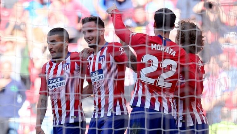 Атлетико ще играе със сборен отбор на МЛС