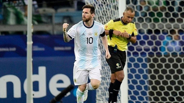 Аржентина отново не показа нищо, но поне не загуби (видео)