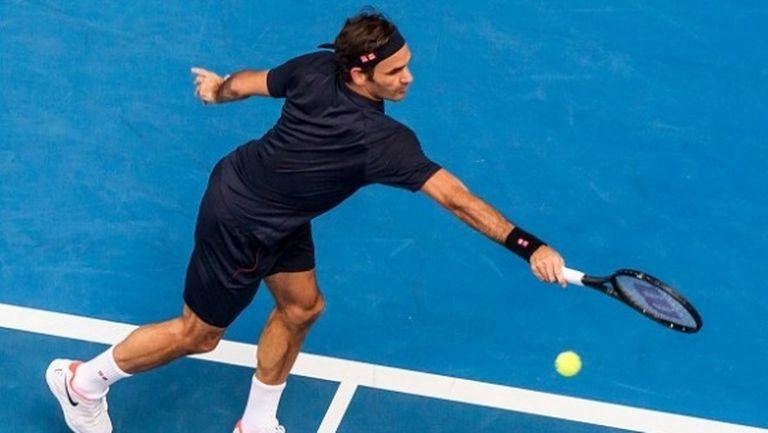 Роджър Федерер започна 2019 година с победа за 57 минути
