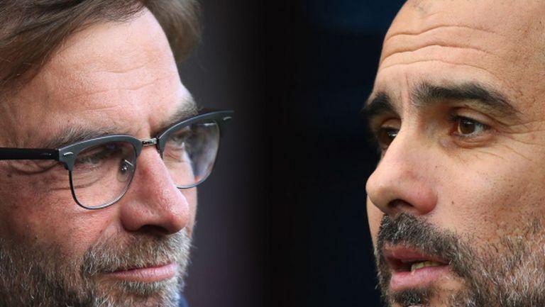 Мачът на сезона в Премиър лийг: Манчестър Сити - Ливърпул