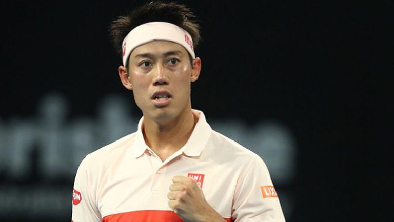 Нишикори след победата срещу Григор: И двамата показахме добър тенис