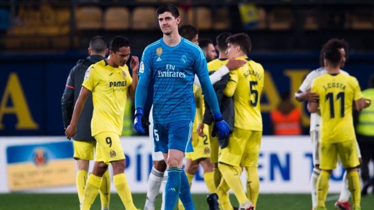 Реал Мадрид започна годината с издънка срещу опашкар (видео + галерия)