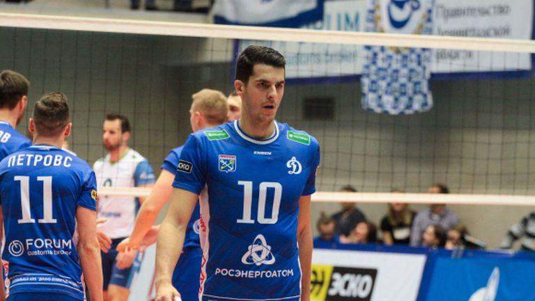 Светослав Гоцев и Динамо ЛО с четвърта победа в Русия