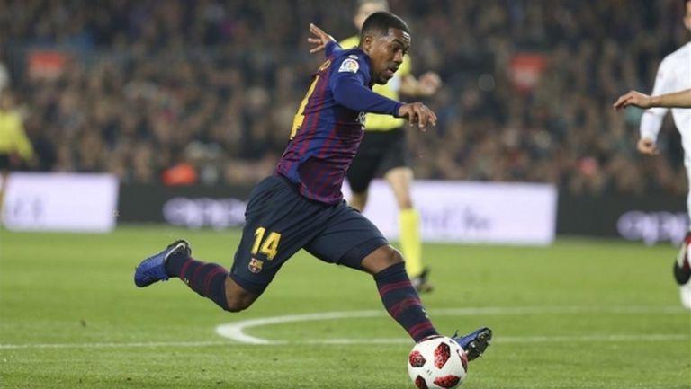 Лацио ще се пробва за бразилец на Барселона