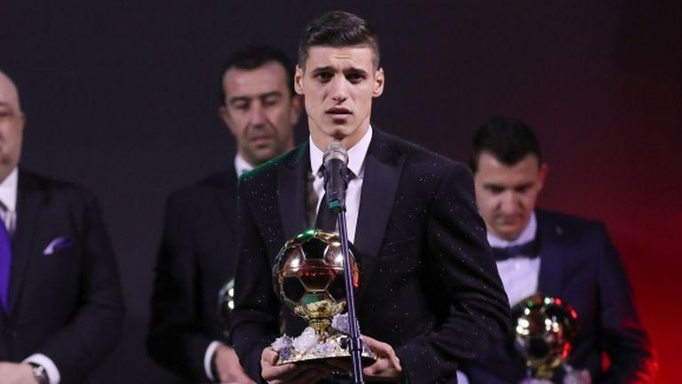 Кирил Десподов е футболист №1 на България за 2018 година, прецедент в челната тройка (видео+галерия)