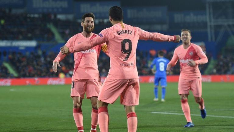 Барса издуха Реал Мадрид на 10 точки, ново съмнително съдийско решение (видео+галерия)