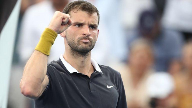 Australian Open със специален видео профил на Григор Димитров